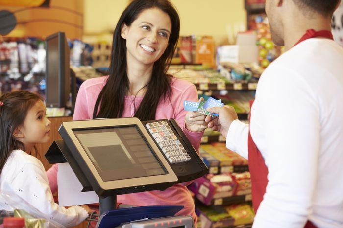 покупка в магазине в кредит
