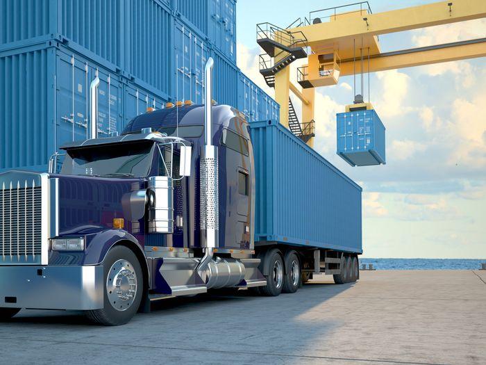 загрузка грузовика