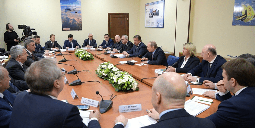 Президент встретился с представителями бизнеса в Рыбинске