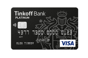 Описание дебетовой карты от банка Тинькофф «Tinkoff Black»