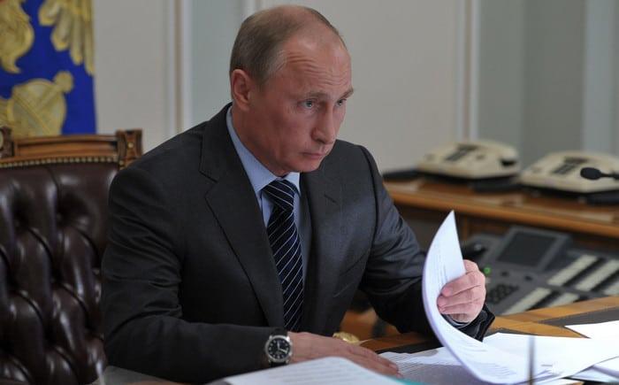 Путин поручил ускорить разработку законопроекта по взысканию неналоговых платежей