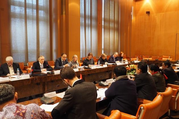 Минобрнауки России встретился с делегацией Парламента Индонезии