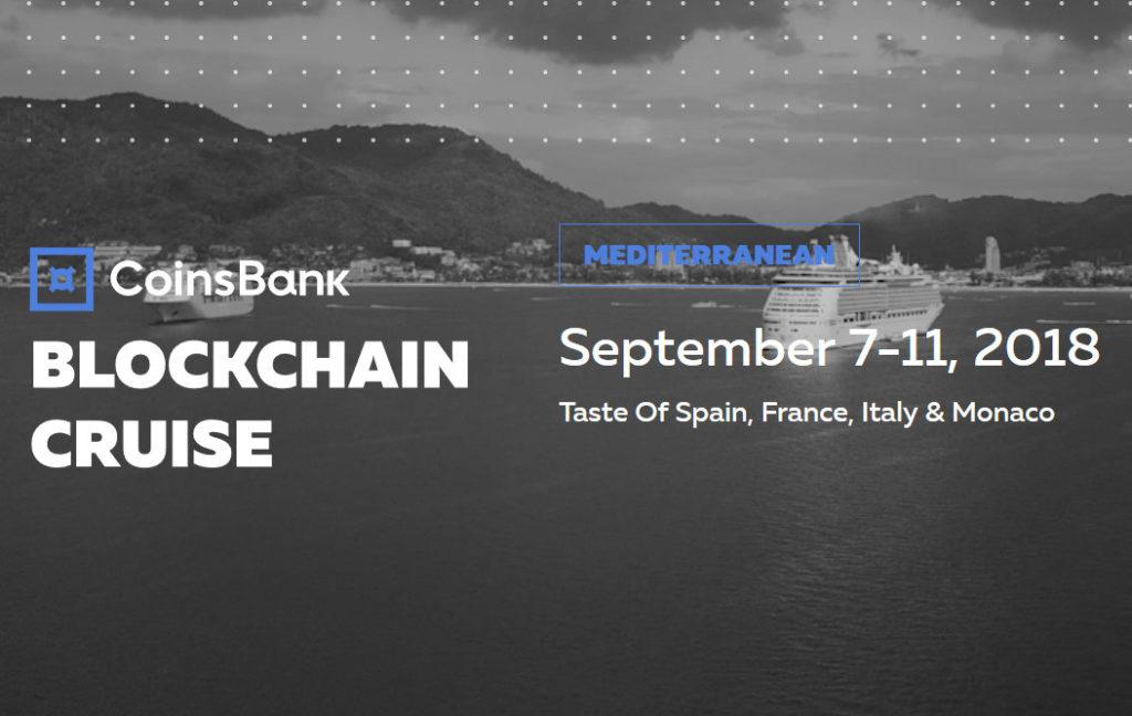 Blockchain Cruise Europe состоится 7-11 сентября