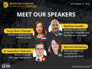 Blockchain & Bitcoin Conference Stockholm: в столице Швеции обсудят инновации в сфере токенсейлов и потенциал децентрализованных систем