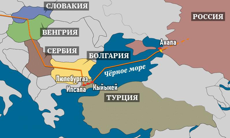 Эксперт о поддержке Сербией «Турецкого потока»
