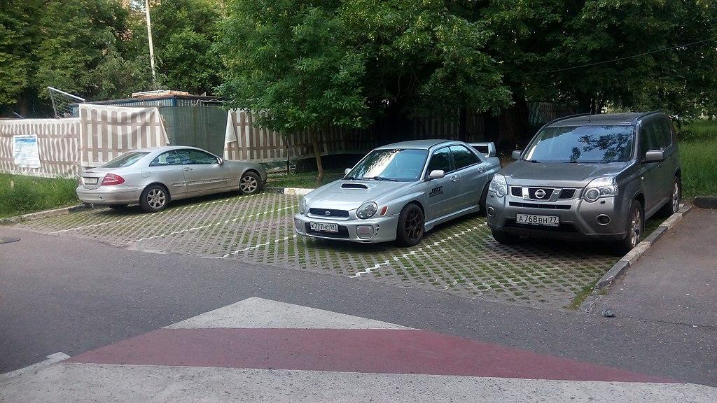 Организация парковки на придомовой территории