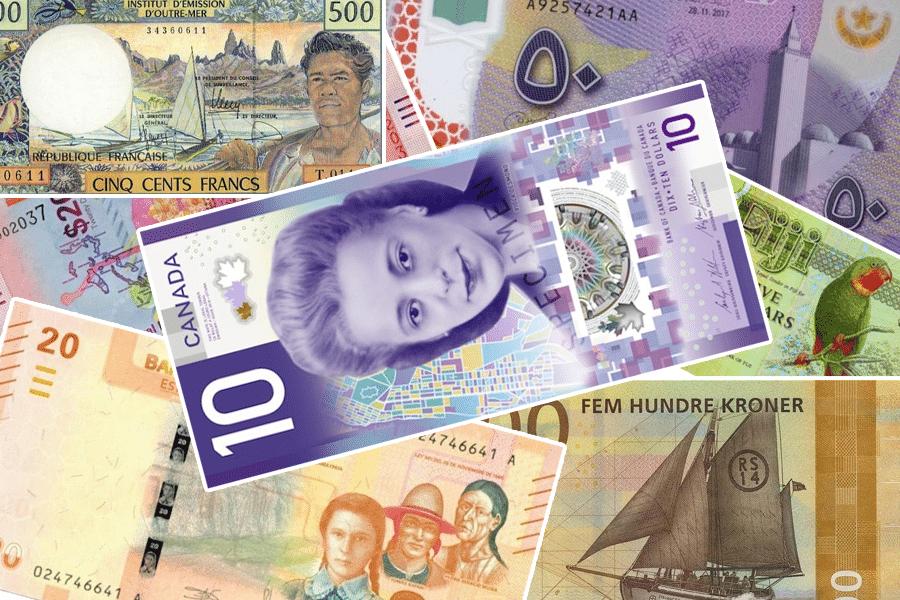 Самые красивые денежные банкноты мира — ТОП17